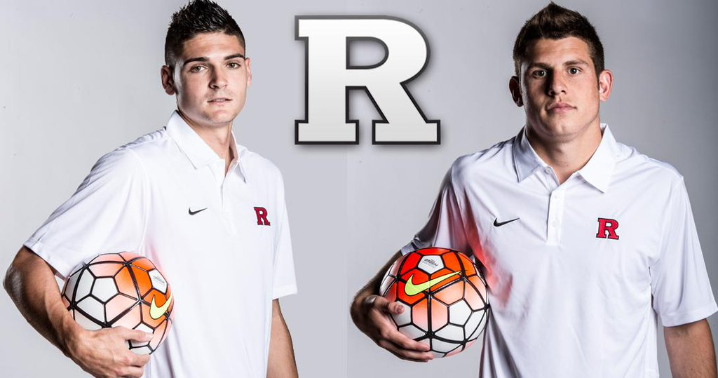 Mitchell Lurie and Mitchell Taintor were named co-captains at Rutgers during their senior season.