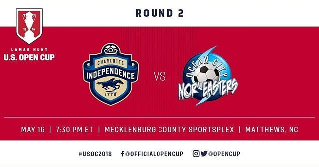 2018 US Open Cup: Nor'easters upset another pro team, 3-1 over Charlotte Independence (VIDEO)