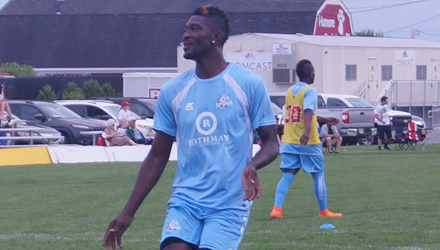 Nor'easters forward, PDL scoring champion, Chevaughn Walsh named to All-League team