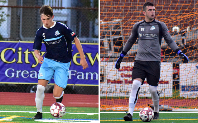 League MVP Deri Corfe, goalkeeper Keegan Meyer selected in MLS SuperDraft