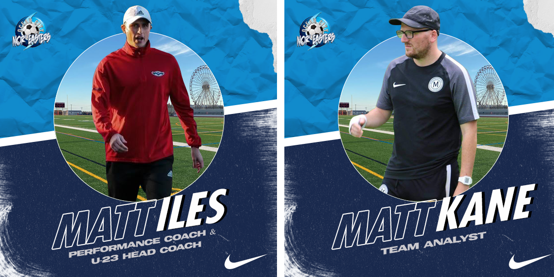 Nor'easters add pair of talented coaches to technical staff