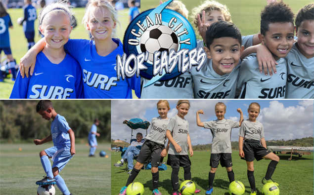 Sign up today for Ocean City Nor'easters Junior Academy