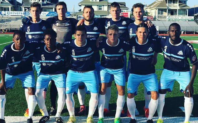 Nor'easters' Akeil Barrett celebrates birthday in style with win over New England Revolution U-23s (VIDEO)