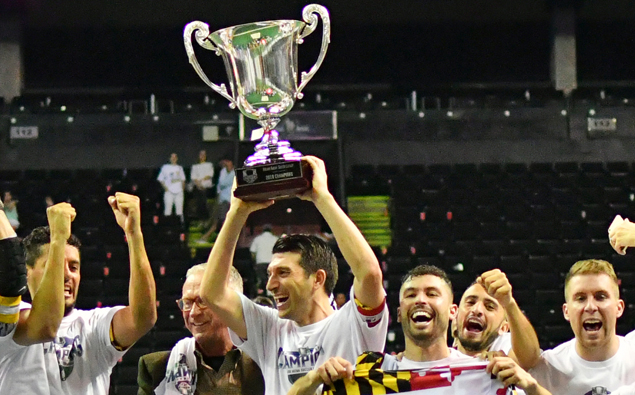 Former Ocean City star Tony Donatelli leads Baltimore Blast to rare three-peat